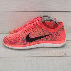 Women's Nike Free 4.0 Flyknit running shoes - 9.5